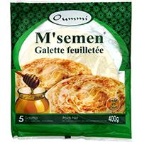 MSEMEN- 5 GALETTES-FEUILLETEE
