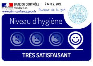 Note Hygiène Boucherie de la Gare